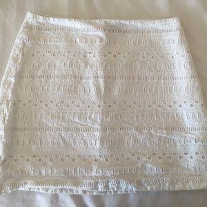Gap Skirt, size 4, white